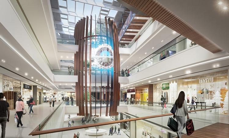 Enterijer Ada Mall-a, dom najnovije VIP menjačnice