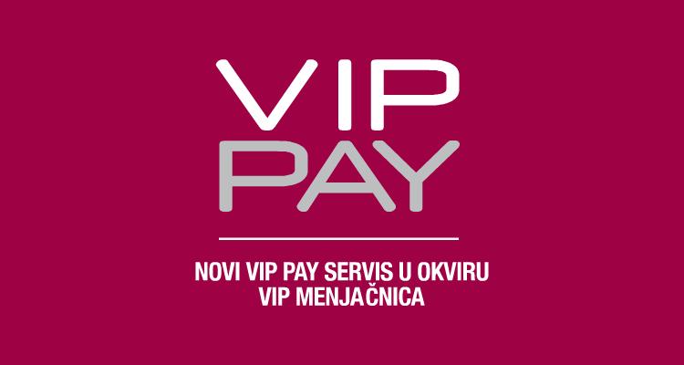 Placanje racuna u menjacnici - VIP PAY